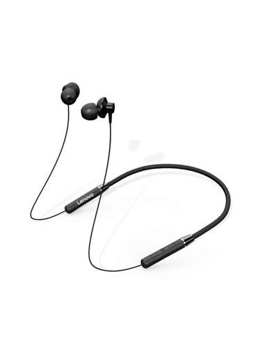 Lenovo He05 Bluetooth Kablosuz Kulaklık Manyetik Sporcu Koşu Su Geçirmez Siyah